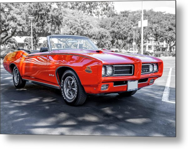 Pontiac G T O Judge Convertible Metal Print
