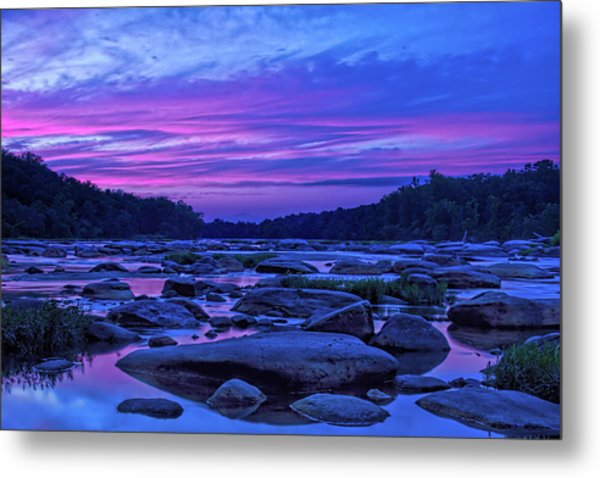 Metal Print featuring the photograph Pony Pasture Sunset by Jemmy Archer