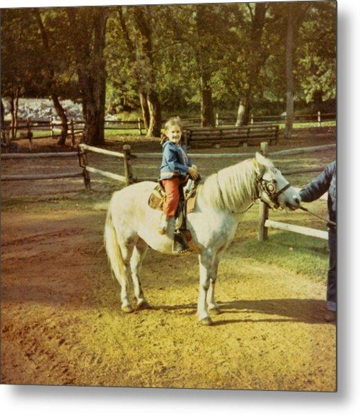 Pony Ride Metal Print