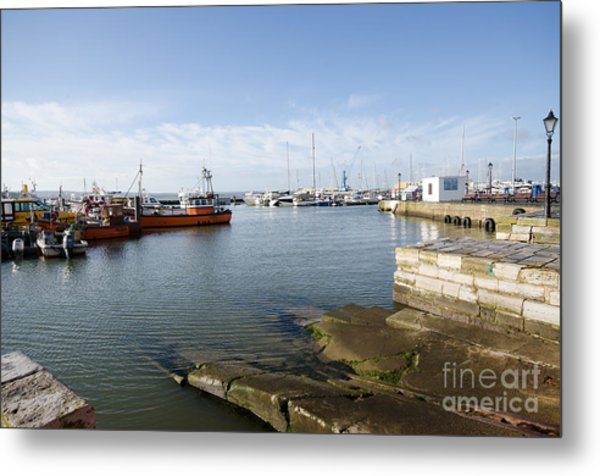 Poole Harbour Metal Print