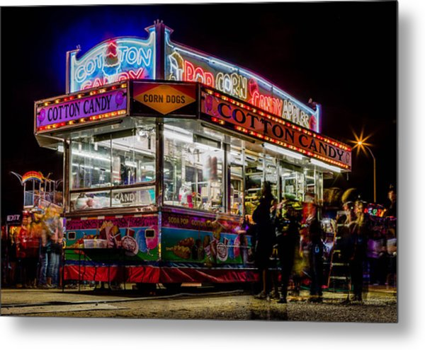 Pop And Candy Metal Print by Bryan Moore