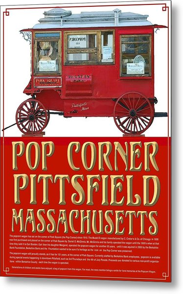 Pop Corner With History Metal Print