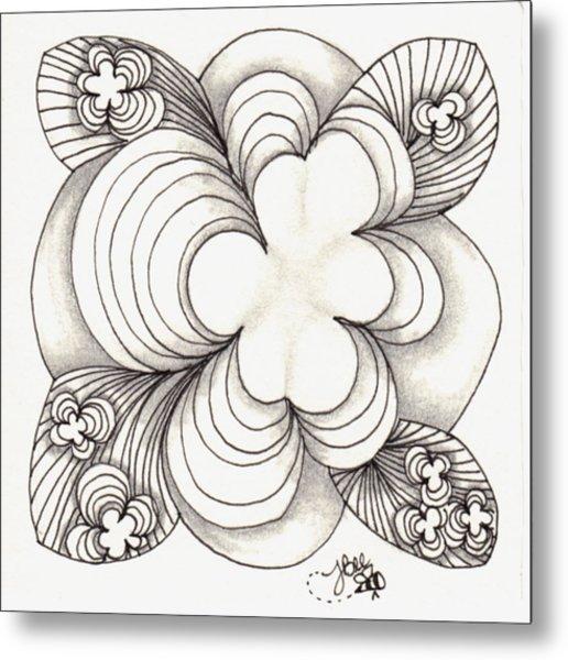 Popcloud Blossom Metal Print