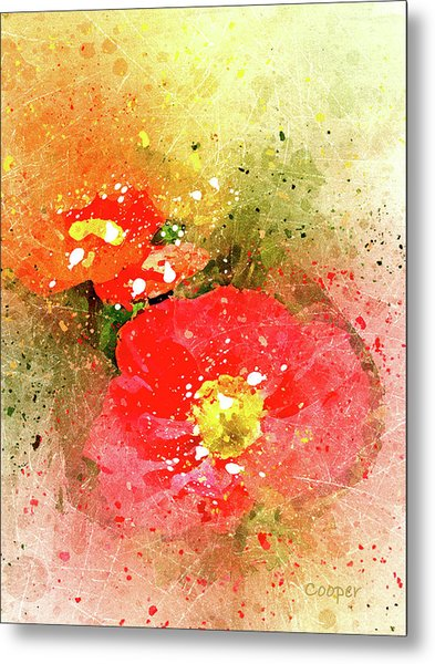 Poppies 5 S Metal Print