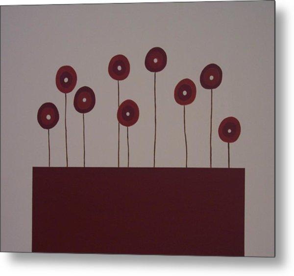 Poppies Metal Print by Sandy Bostelman