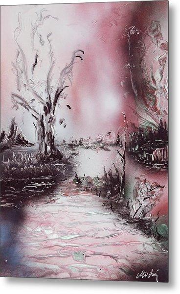 Porcelain River Metal Print