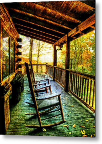 Porch Front Metal Print