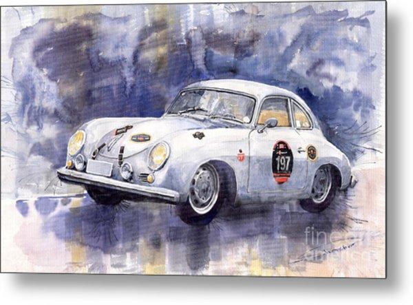 Porsche 356 Coupe Metal Print