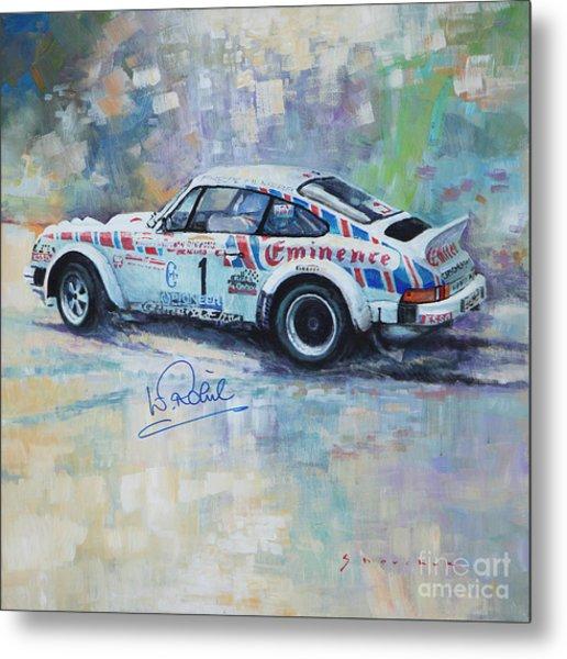 Porsche 911 Sc  Rallye Sanremo 1981 Metal Print