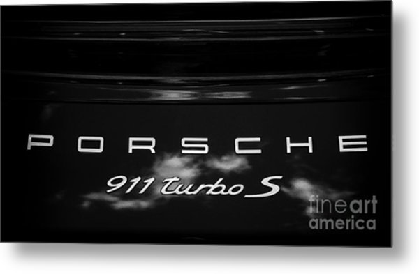 Porsche 911 Turbo S Metal Print