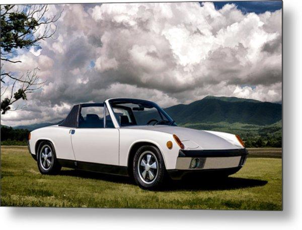 Porsche 914 Metal Print