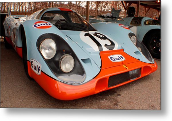 Porsche 917 Metal Print