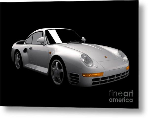 Porsche 959 Metal Print