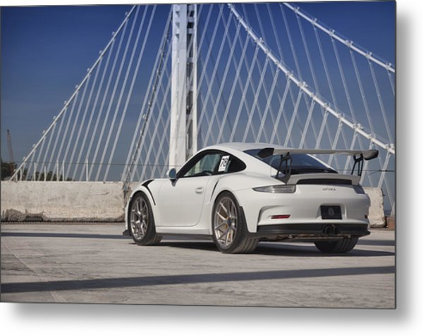 Metal Print featuring the photograph Porsche Gt3rs by ItzKirb Photography