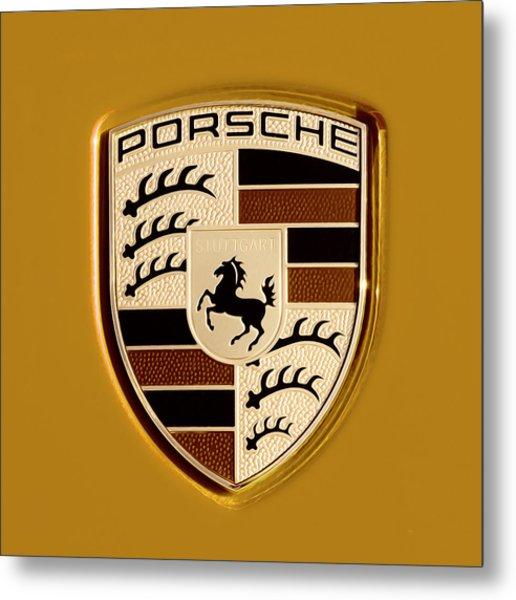Porsche Oil Paint Filter 121615 Metal Print