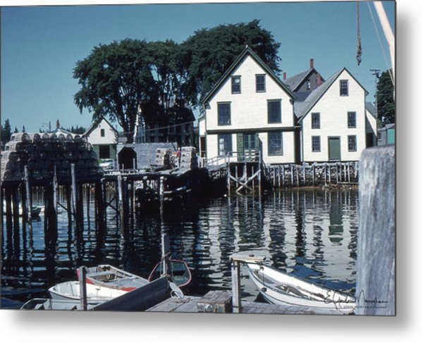 Port Clyde Maine Metal Print