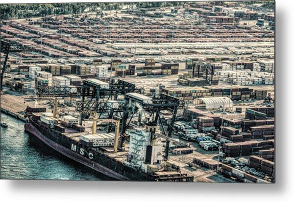 Port Everglades 2 Metal Print