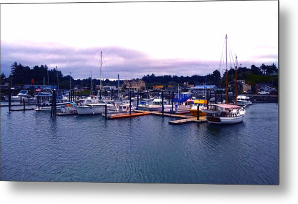 Port Of Bandon Metal Print