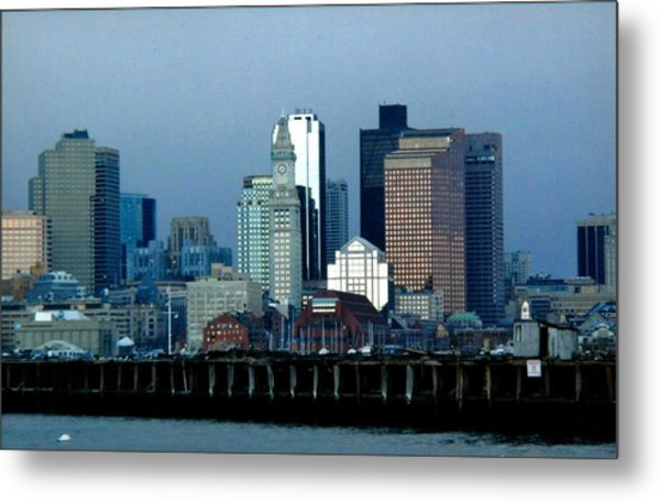 Port Of Boston Metal Print