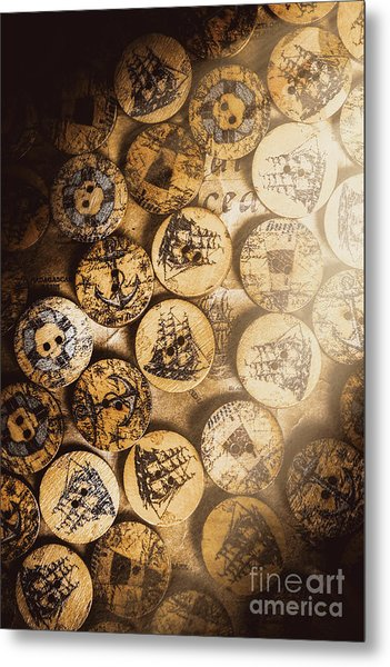 Port Of Corks At The Old Sail Tavern Metal Print