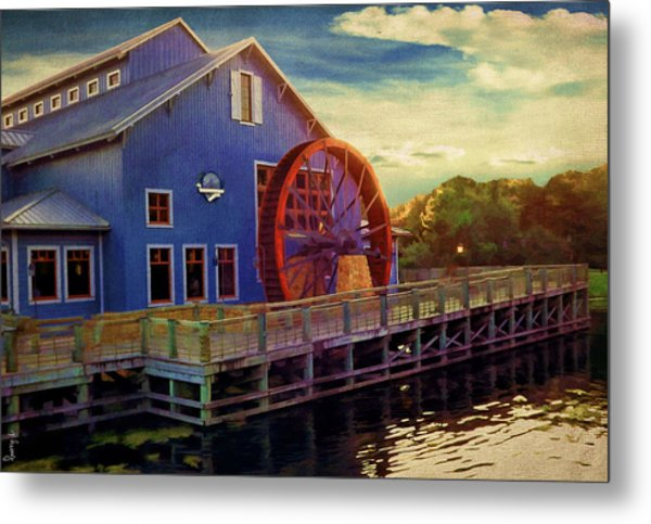 Port Orleans Riverside Metal Print