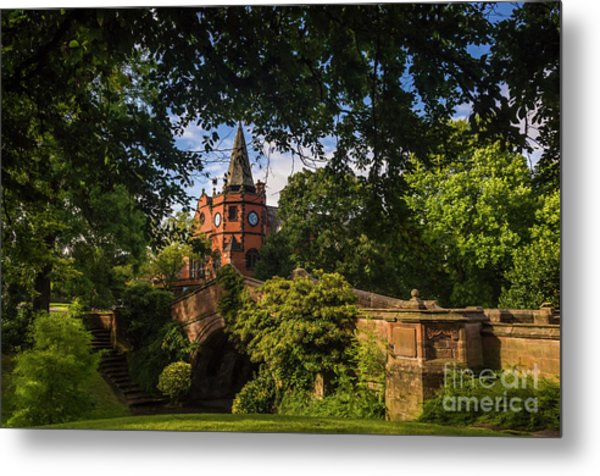 Port Sunlight Village In Summer Metal Print