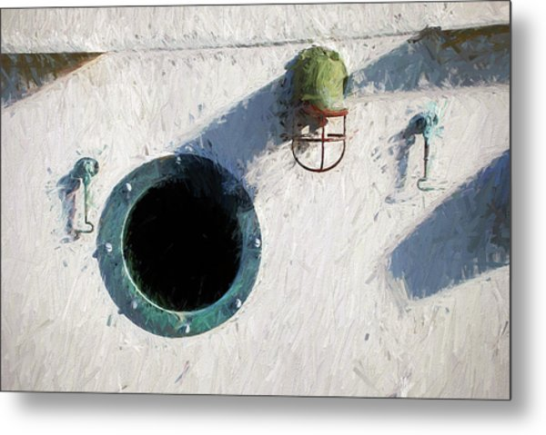 Portal To The Sea, Fine Art Print Metal Print
