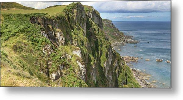 Portkill Cliffs Metal Print