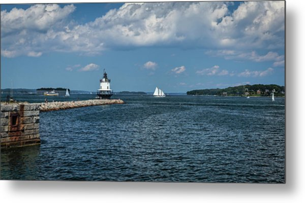 Portland Harbor, Maine Metal Print