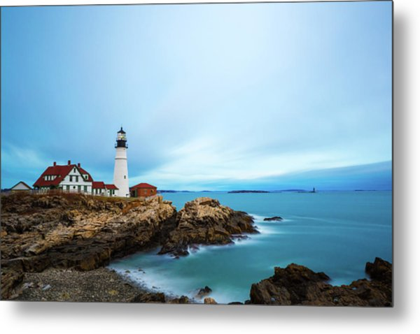 Portland Head Light 1 Metal Print