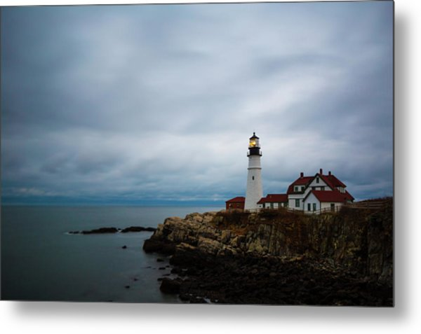Portland Head Light 2 Metal Print