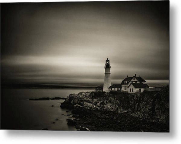 Portland Head Light 3 Metal Print