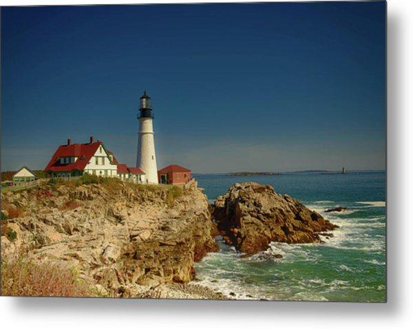 Portland Head Lighthouse 2 Metal Print