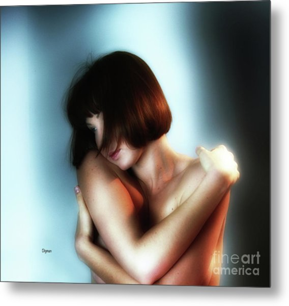 Portrait In Sensuous  Metal Print by Steven Digman