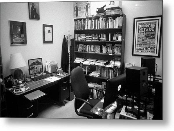 Portrait Of A Film/tv Professor's Office Metal Print