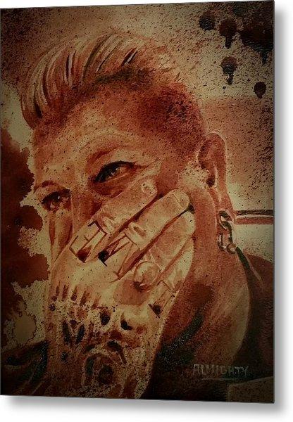 Portrait Of Chris Kross Metal Print