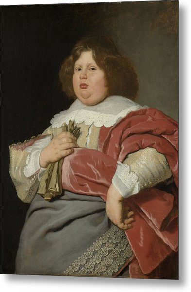 Portrait Of Gerard Andriesz Bicker, 1642 Metal Print