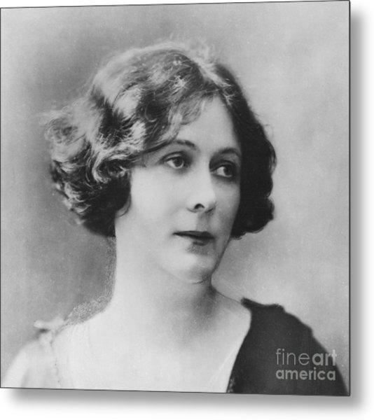 Portrait Of Isadora Duncan Metal Print