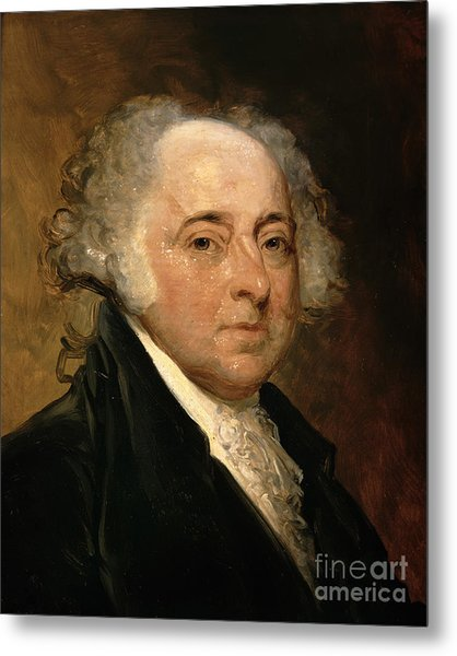 Portrait Of John Adams Metal Print