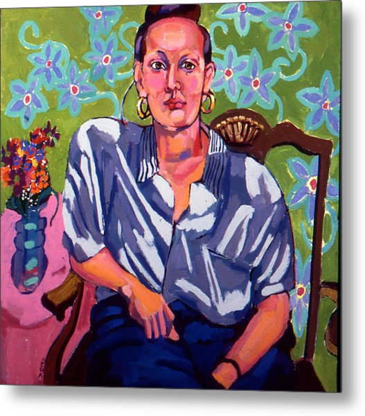 Portrait Of Karen Metal Print
