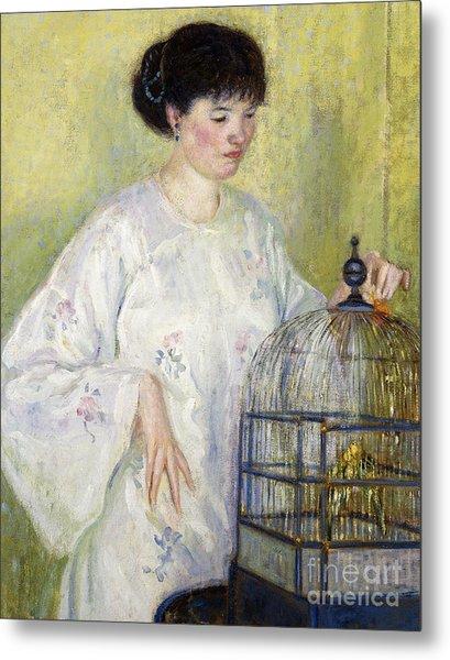 Portrait Of Madame Frieseke Metal Print