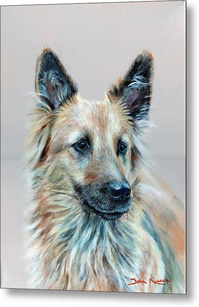 Portrait Of Sasha Metal Print