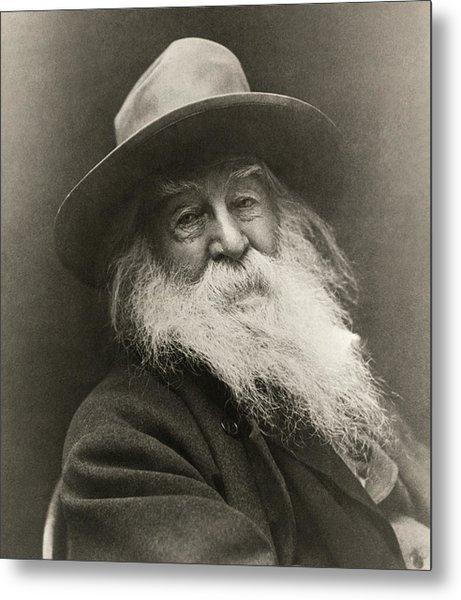 Portrait Of Walt Whitman Metal Print