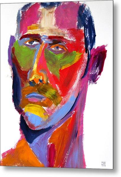 Portrait Prez Metal Print