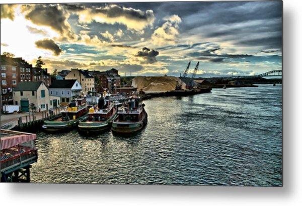 Portsmouth Harbor Metal Print