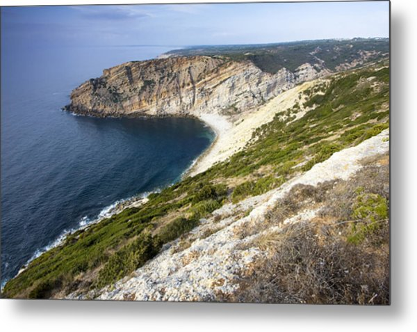 Portuguese Coast Metal Print by Andre Goncalves