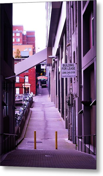 Post Alley, Seattle Metal Print