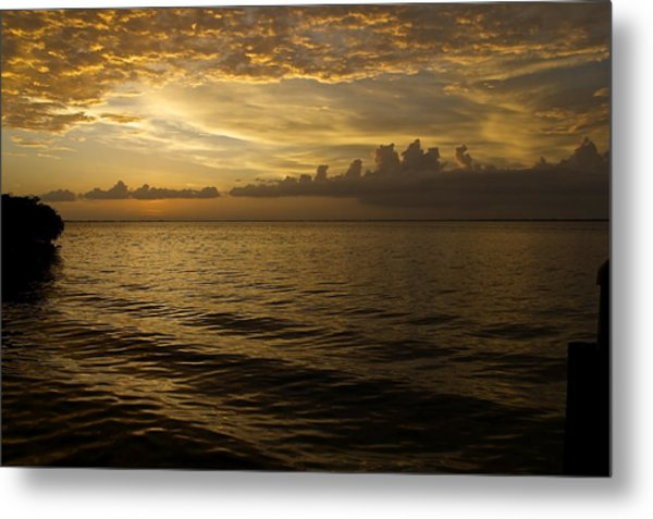 Post Sunset Bliss Metal Print by Christin Walton