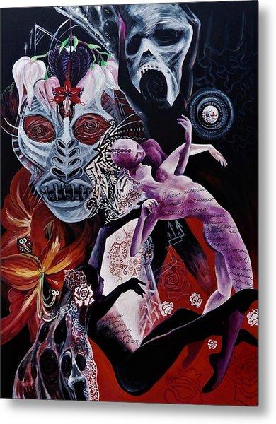 Postcard From Death Metal Print
