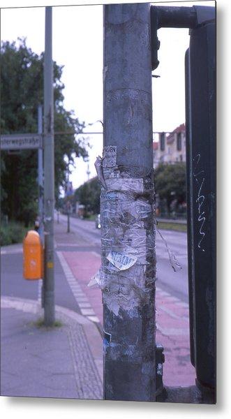 Posts And Towers In Berlin Metal Print
